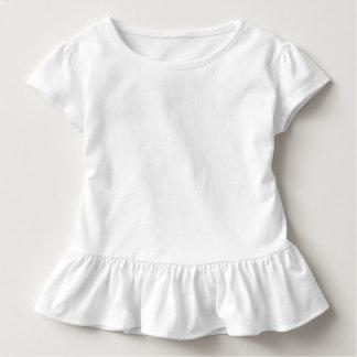 T do plissado da criança t-shirt