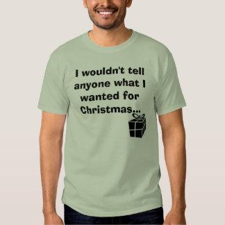 T do presente de Natal Camiseta