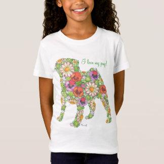 T do Pug do jardim Camiseta