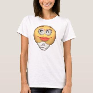T do smiley camiseta