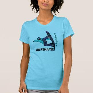 T do snowboard das senhoras do Columbia Britânica Tshirts