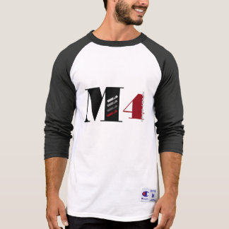 T gráfico do basebol do desgaste do esporte de M T-shirt