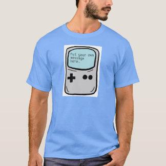 T handheld das caras do gamer customizável tshirts