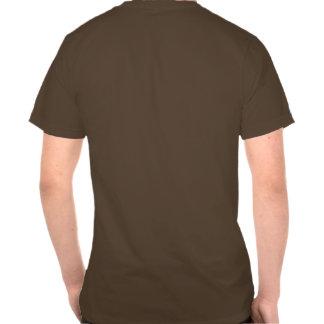 T litoral do oficial da pegada camisetas