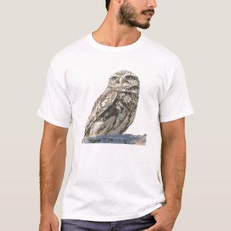T manchado da coruja tshirts