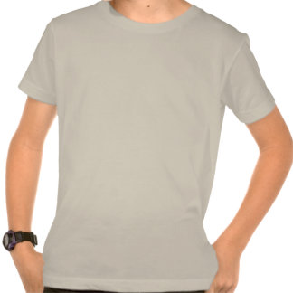 T orgânico personalizado do roupa americano das camisetas