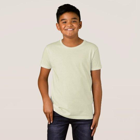 Camiseta infantil orgânica, Natural