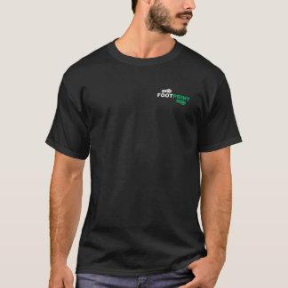 T preto da pegada camisetas