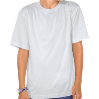 T-S secos personalizados da malha do dobro do camp Tshirt