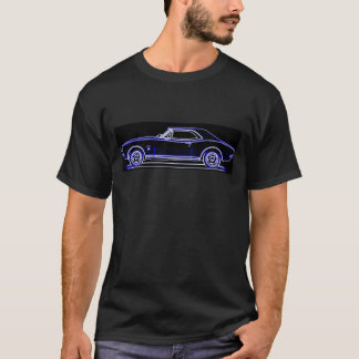 T-shirt 1967 do carro do músculo de Camaro