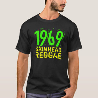 T-shirt 1969 da REGGAE do SKINHEAD