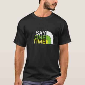 T-shirt 1 cara do tempo