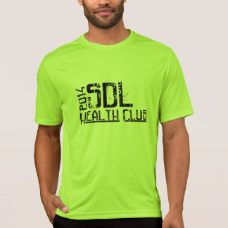 T-shirt #2 do SportTek dos homens de SDLHC