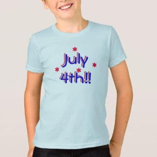 t-shirt - 4 de julho (miúdos)