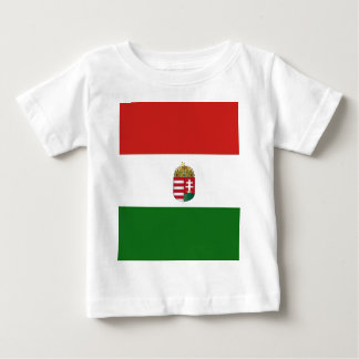 T-shirt A bandeira de Hungria