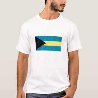 T-shirt A bandeira nacional de Bahamas