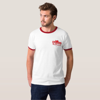t-shirt à bordos de cores o Sr. História Alsácia