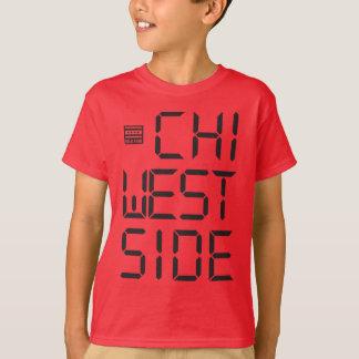 T-shirt A engrenagem dos miúdos do LADO OESTE do QUI