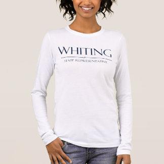 T-shirt A Longo-Luva das mulheres