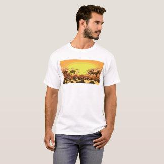 T-shirt A praia