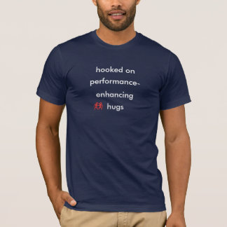 T-shirt abraços do desempenho
