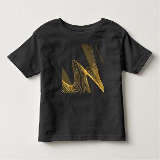 T-shirt abstrato do jérsei da multa da criança de