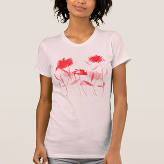 T-shirt Abstrato floral