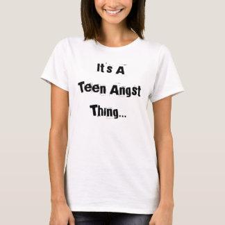 T-shirt adolescente da revolta =]