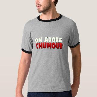 T-Shirt adora-se o humor!