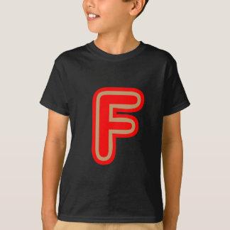 T-shirt Alfabeto ALPHAF FFF