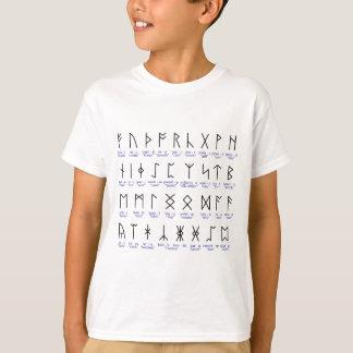 T-shirt Alfabeto Runic
