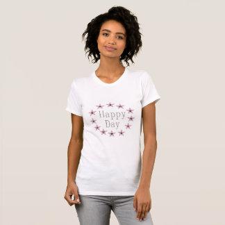 T-shirt alternativo do pescoço de grupo do roupa