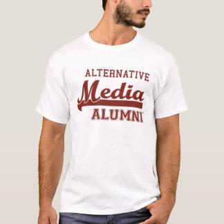 T-shirt alternativo dos alunos dos meios