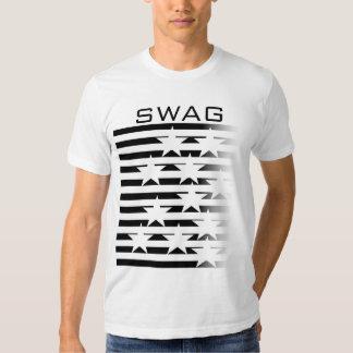 T-shirt americano básico do roupa dos homens dos