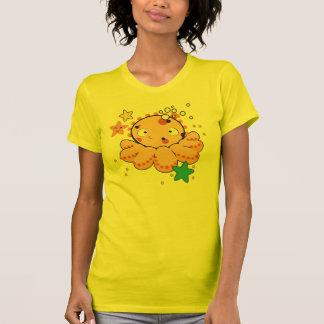 T-shirt americano do jérsei da multa do roupa das
