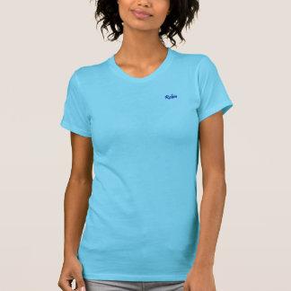 T-shirt americano do jérsei da multa do roupa do