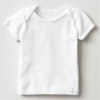 T-shirt americano do regaço do roupa do bebê