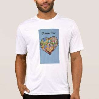 T-shirt Amor da parte