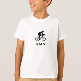 T-shirt AMS de ciclagem holandês de Amsterdão