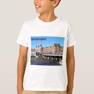 T-shirt Amsterdão--Países Baixos---[kan.k]