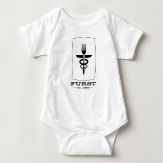T-shirt Aniversário de Furst 50th - roupa B/W dos miúdos