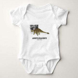 T-shirt Ankylosaurus (dinossauro fundido do lagarto)
