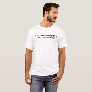 T-shirt As chaves ao sucesso 2