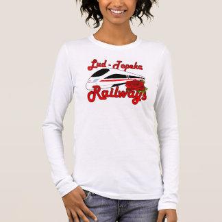 T-shirt As estradas de ferro Lud-Topeka & aumentaram