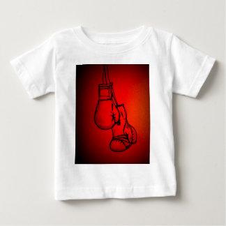 T-shirt As luvas de encaixotamento lutam o presente do fã