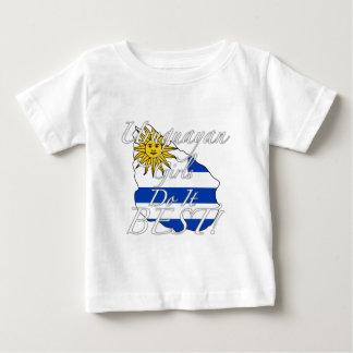 T-shirt As meninas uruguaias fazem-no melhor!