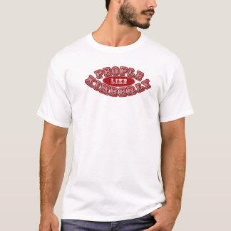 T-shirt AS PESSOAS GOSTAM DE KIMBERLY T básico