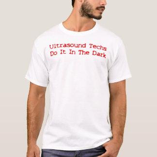 T-shirt As tecnologias do ultra-som fazem-no na