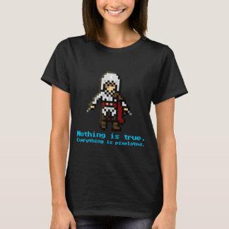 T-shirt assassino de 8 bits