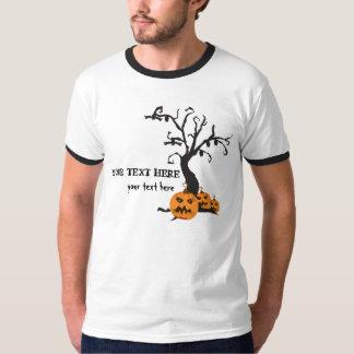 T-shirt assustador customizável do Dia das Bruxas
